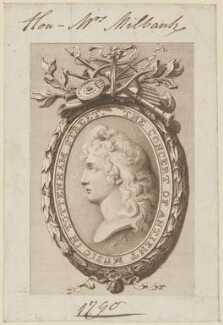 Mrs Milbank, by James Heath, after  Robert Smirke - NPG D14988