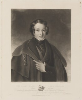 Lord Brooke, by Charles Edward Wagstaff, published by and after  F. Rosenberg - NPG D14995