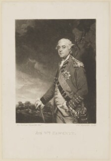 Sir William Fawcett, by and published by Samuel William Reynolds, after  Sir Joshua Reynolds, published 1801 (1783-1785) - NPG D15014 - © National Portrait Gallery, London