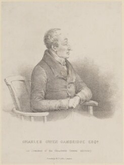 Charles Owen Cambridge, published by Standidge and Co - NPG D15015