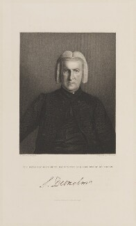 Shute Barrington, by John Cochran, published by  Fisher Son & Co, after  William Behnes - NPG D15016