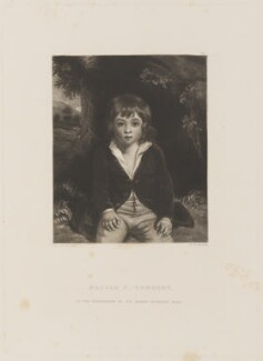 Sir Henry Edward Bunbury, 7th Bt, by and published by Samuel William Reynolds, after  Sir Joshua Reynolds - NPG D15033