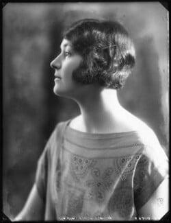 Hon. Violet Alma Madeline Baring, by Bassano Ltd - NPG x122842