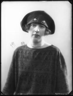 Hon. Alexandria Rose Alice Towneley-Bertie, by Bassano Ltd - NPG x122843
