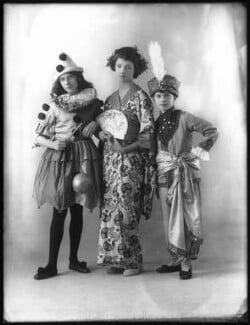 Madeline Gill; Constance Gill; Charles Gill, by Bassano Ltd - NPG x122844