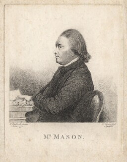 William Mason, by Charles Carter, after  Lewis Vaslet - NPG D18115