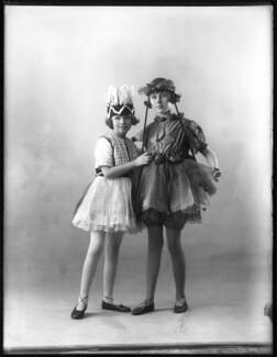 Margery Kathleen Balsdon (née Nettleton); Elsie Evelyn Vellacott (née Nettleton), by Bassano Ltd - NPG x122848