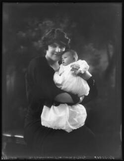 Hermione Justice Shirley (née Morley), Countess Ferrers; Elizabeth Hermione Shirley, by Bassano Ltd - NPG x122857