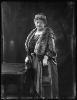 Lady Elizabeth Florence Strabolgi (née Cooper), by Bassano Ltd - NPG x122862