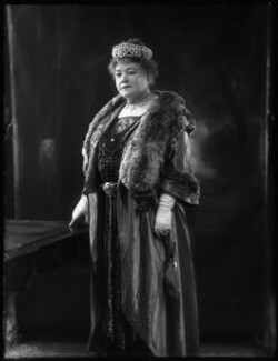 Lady Elizabeth Florence Strabolgi (née Cooper), by Bassano Ltd - NPG x122863