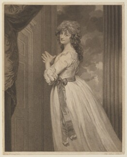 Dorothy Jordan, by John Ogborne, published by  John Boydell, and published by  Josiah Boydell, after  George Romney, published 24 June 1788 - NPG D15037 - © National Portrait Gallery, London