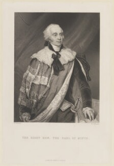 Gilbert Elliot, 1st Earl of Minto, by W. Joseph Edwards, published by  James Sprent Virtue, after  George Chinnery - NPG D15052
