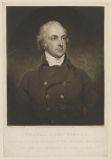 Thomas Pelham, 2nd Earl of Chichester, by and published by Samuel William Reynolds, after  John Hoppner - NPG D15053