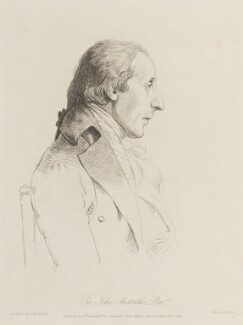 Sir John Anstruther, by William Daniell, after  George Dance - NPG D15057