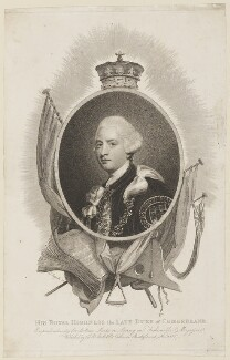 Ernest Augustus, Duke of Cumberland and King of Hanover, by Edward Scriven, published by  John Bell, after  Sir Joshua Reynolds - NPG D15059