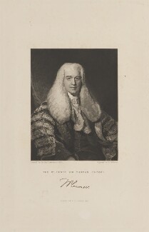 Sir Thomas Plumer, by John Henry Robinson, published by  Fisher Son & Co, after  Sir Thomas Lawrence - NPG D15066