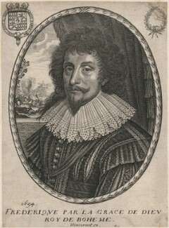 Frederick V, King of Bohemia and Elector Palatine, published by Balthasar Moncornet - NPG D18134