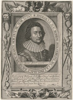 Frederick V, King of Bohemia and Elector Palatine, published by Nicolas de Clerck, early 17th century - NPG D18137 - © National Portrait Gallery, London