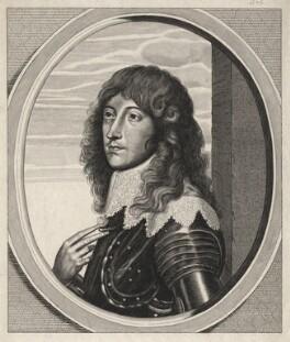 Prince Rupert, Count Palatine, after William Faithorne, after  Sir Anthony van Dyck - NPG D18149