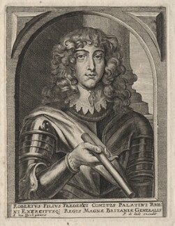 Prince Rupert, Count Palatine, published by Pieter de Jode II, after  Sir Anthony van Dyck - NPG D18155