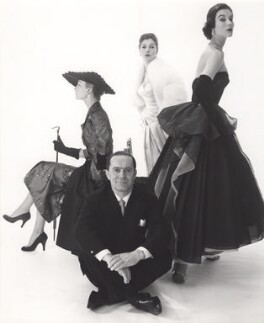 Helen Conner; Guiseppe Gustavo Mattli; Fiona (née Campbell-Walter), Baroness Thyssen; Myrtle Crawford (Lady Acland), by Norman Parkinson - NPG x30061