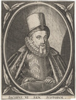 King James I of England and VI of Scotland, after Unknown artist - NPG D18178