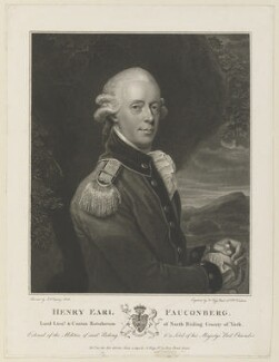 Henry Belasyse, 2nd Earl of Fauconberg, by and published by Anthony Fogg, after  John Singleton Copley - NPG D15072