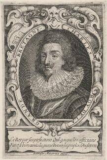 King Charles I, published by Balthasar Moncornet, after  Daniel Mytens - NPG D18214