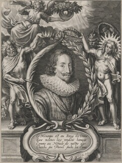 King Charles I, probably by Cornelis Galle the Younger, after  Nicolaus van der Horst - NPG D18217