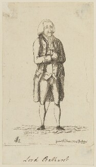 Henry Bathurst, 2nd Earl Bathurst, by James Sayers, published by  Charles Bretherton - NPG D15082