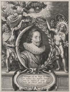 King Charles I, probably by Cornelis Galle the Younger, after  Nicolaus van der Horst - NPG D18218