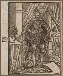 King James I of England and VI of Scotland, by Joachim Dieterich (Tieterich) Coriolanus, after  Unknown artist - NPG D18240