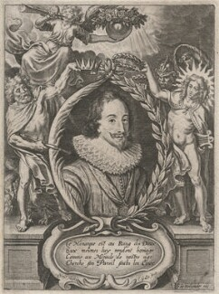 King Charles I, probably by Cornelis Galle the Younger, after  Nicolaus van der Horst - NPG D18279