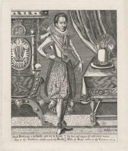 King Charles I, after Renold or Reginold Elstrack (Elstracke) - NPG D18282
