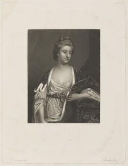 Elizabeth Herbert (née Spencer), Countess of Pembroke, by Frederick Bromley, after  Sir Joshua Reynolds - NPG D15097