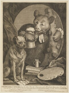 'The Bruiser' (Charles Churchill), by and published by William Hogarth - NPG D15099