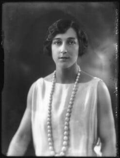 Hon. Margaret Bruce Esmé Chaloner, by Bassano Ltd - NPG x122873
