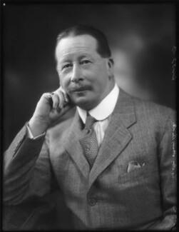 Henry Cavendish Butler, 8th Earl of Lanesborough, by Bassano Ltd - NPG x122878