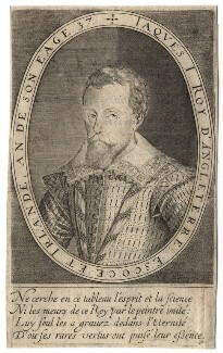 King James I of England and VI of Scotland, by Karel van Mallery, after  Unknown artist - NPG D18246