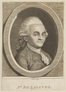 Joseph Jérôme le Français de Lalande, by R. Stanier - NPG D15110