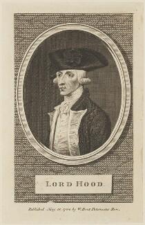 Samuel Hood, 1st Viscount Hood, published by William Bent, published 31 May 1784 - NPG D15111 - © National Portrait Gallery, London