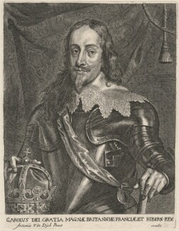 King Charles I, published by Johannes Meyssens, after  Sir Anthony van Dyck - NPG D18293