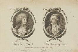 'The False Wife and The Persevering Lover' (Lord John Townshend), published by Archibald Hamilton Jr - NPG D15112