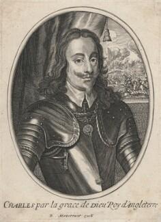 King Charles I, published by Balthasar Moncornet, after  Sir Anthony van Dyck - NPG D18295