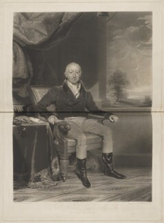 John Willis, by William Say, published by  Henry Mortlock, and published by  Rudolph Ackermann Jr, after  Richard Evans - NPG D15124