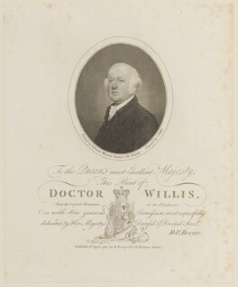 Francis Willis, by James Fittler, published by and after  Robert Bowyer - NPG D15125