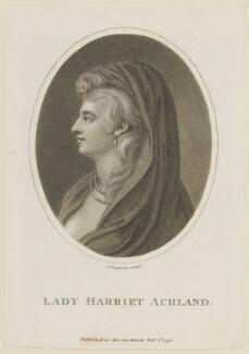 Lady Christian Henrietta Caroline ('Harriet') Acland (née Fox, Fox-Strangways), by John Chapman - NPG D15129