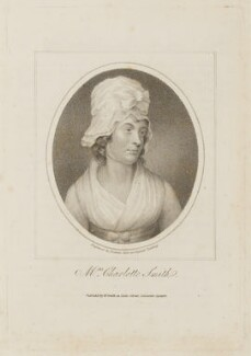 Charlotte Smith (née Turner), by Samuel Freeman, published by  William Smith, after  George Romney - NPG D15133