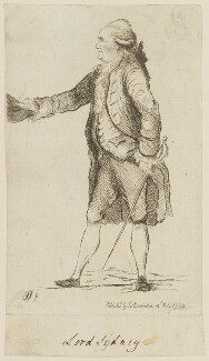 Thomas Townshend, 1st Viscount Sydney, by James Sayers, published by  James Bretherton - NPG D15137