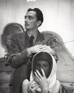 Salvador Dalí; Gala Dalí, by Cecil Beaton - NPG x40080